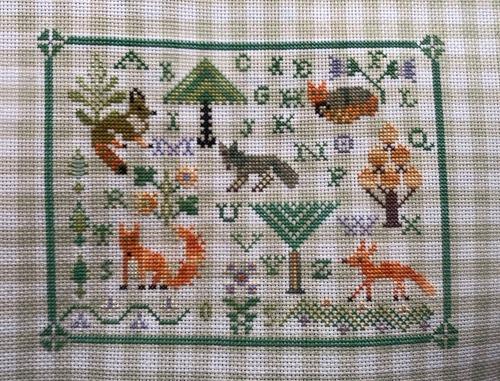 "Фото. The Wokbasket ""Fox forest"".  Автор работы - Foresight"