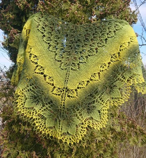 Фото. Майская шаль из Кауни.. Автор работы - dortik