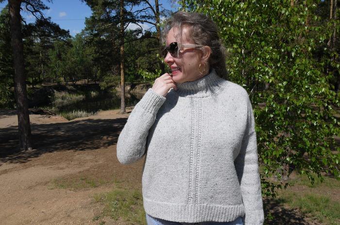 Фото. Пуловер Colvin by Julie Hoover.  Автор работы - Иририна