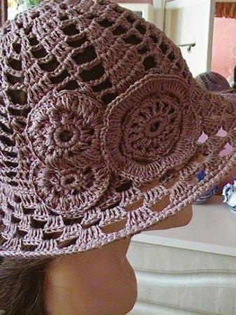 Фото. Летняя шляпка для девочки.  Автор работы - lidiy_