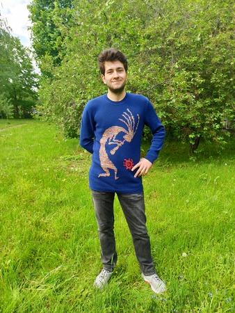 Фото. Джемпер для сына из Jeans Tropical.   Автор работы - Colombinka