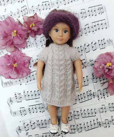 Фото. Итог карантина - платье для куклы.   Автор работы - Evento