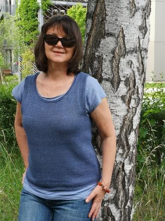 Фото. Майка из льна. Автор работы - Virina1