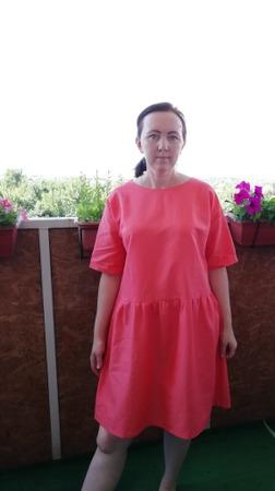 Фото. Платье из Бурды. Автор работы - PolinaM