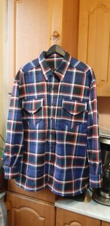 Фото. Наконец-то дошила домашнюю рубашку мужу. С третьего захода.