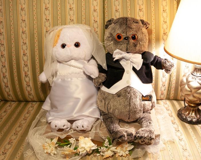 Фото. Свадебные наряды для Басиков.  Автор работы - Alastra