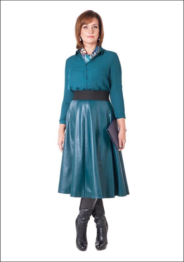 Комплект №3 .Блуза и юбка – Befree. Сапоги – Walker