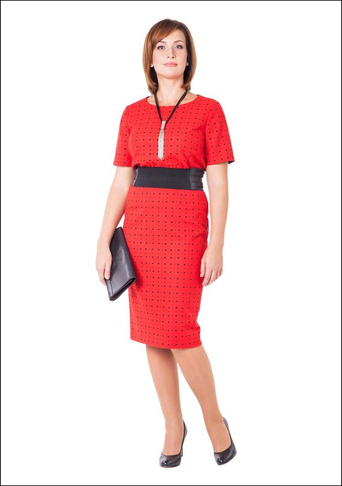Комплект №4 . Блуза и юбка – Marks & Spencer. Туфли – Tommy Hilfiger