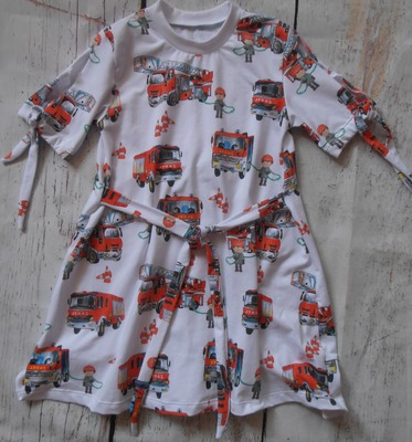 Фото. Платье из кулирки по выкройке футболки. Автор работы - Анна30