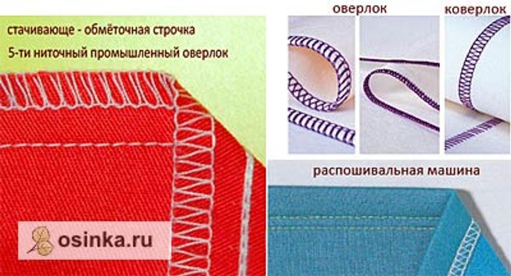 Фото. Примеры разных строчек цепного стежка.