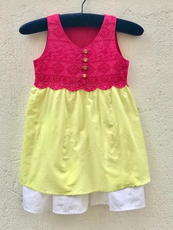 Фото. Платье-переделка: блузка из шитья +  бенеттоновская юбка. Автор работы - Медведь