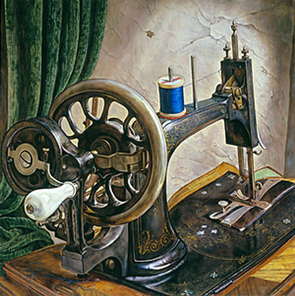 """Фото. Michael Taylor """"Old sewing machine"""""""