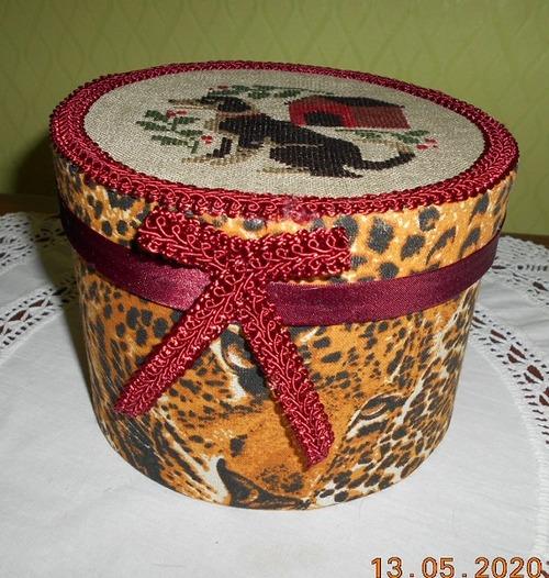 Фото. Коробка с вышивкой.  Автор работы - Gal-lka
